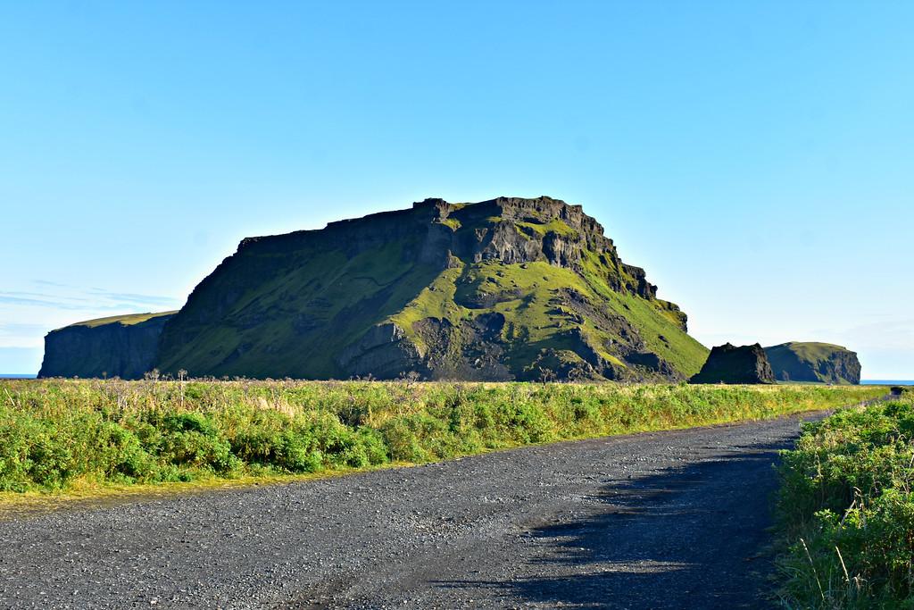 Hjörleifshöfði mountain in South Iceland
