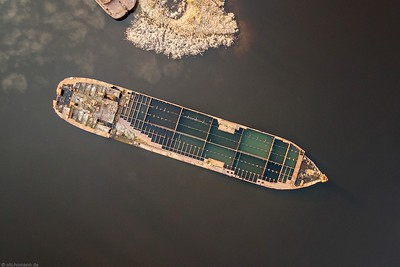 sunken ships - Prypjat, Tschernobyl.
