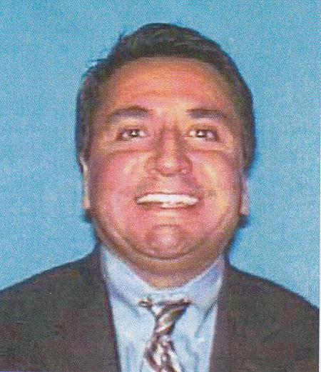 . Gerald Garcia-Barron, 46, of La Mirada, was arrested Wednesday, April 11, 2012, by Alhambra police on suspicion of practicing law without a license and grand theft.