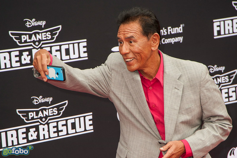 HOLLYWOOD, CA - JULY 15: Actor Wes Studi attends the premiere of Disney's 'Planes: Fire & Rescue' at the El Capitan Theatre on Tuesday July 15, 2014 in Hollywood, California. (Photo by Tom Sorensen/Moovieboy Pictures)