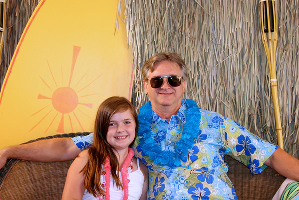 Father-Daughter Luau 2010 Portraits