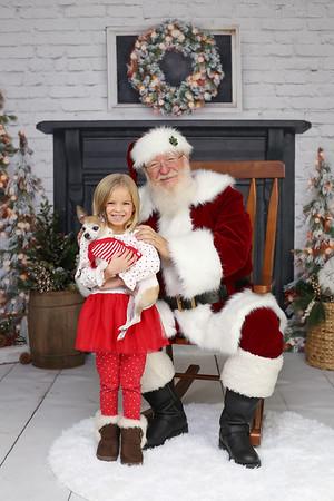 Humphrey Santa Minis 2019