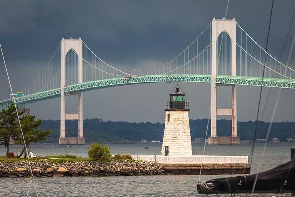 Newport Harbor (Goat Island) Lighthouse
