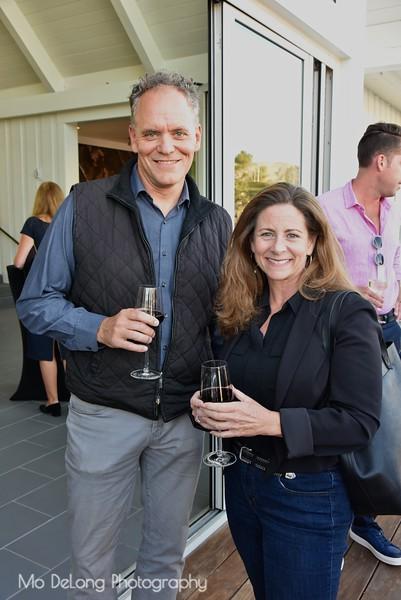 DJ Johns and Gail Lamphere