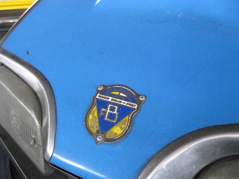 Dodgem car detail.