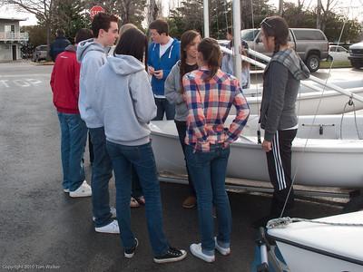 Mater Dei High School Sailing Team Cardinal Regatta 2010 at Standford Sailing Center