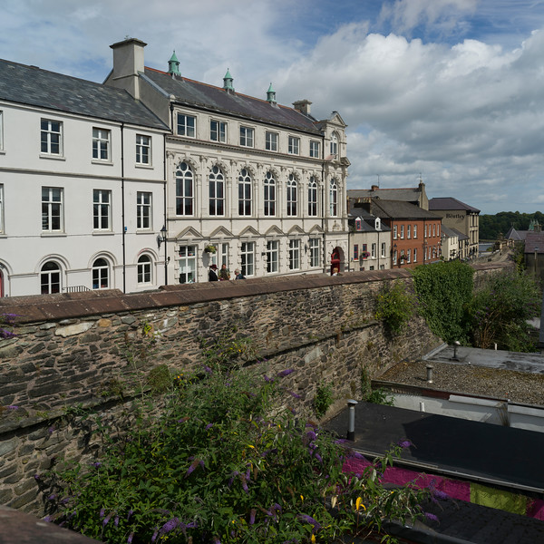 View of buildings in city, Londonderry, Northern Ireland, Ireland