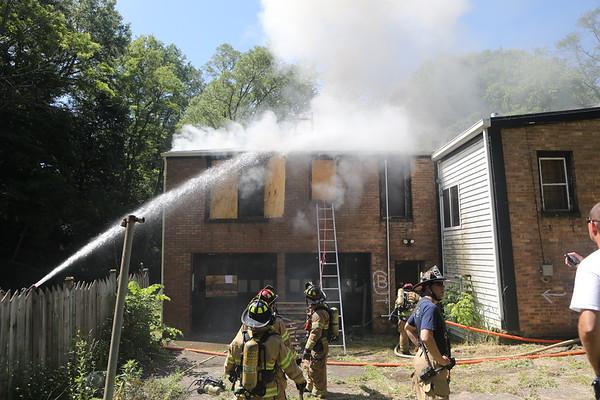 Waukegan Fire Department Live Fire Training 219 Carnation Ct