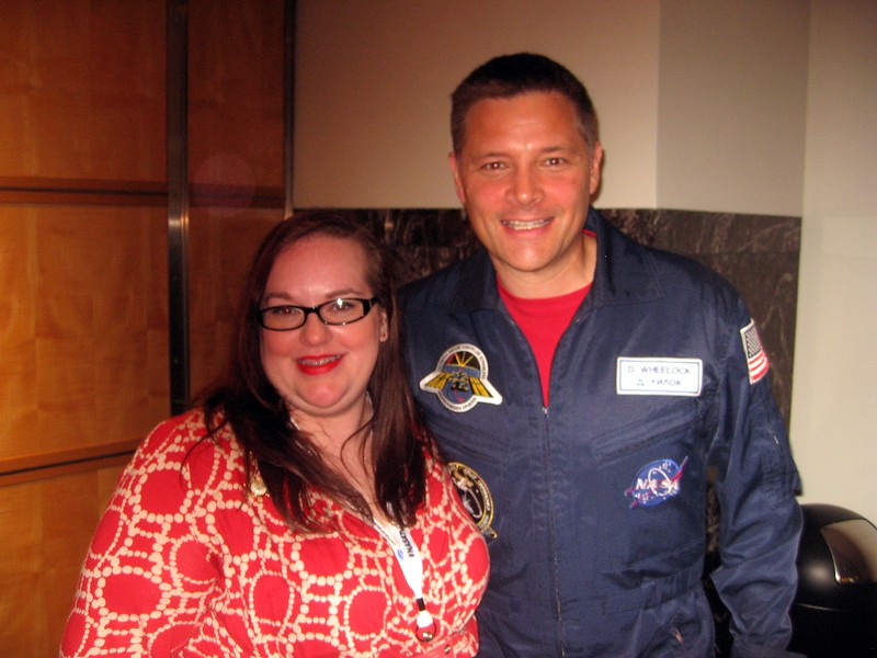 Jen with Doug Wheelock