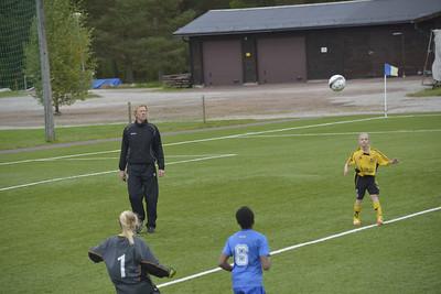 fotbollsmatch mot Sollerön i Rättvik  02 09 2012