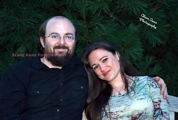 Sarah and Josh Kelley