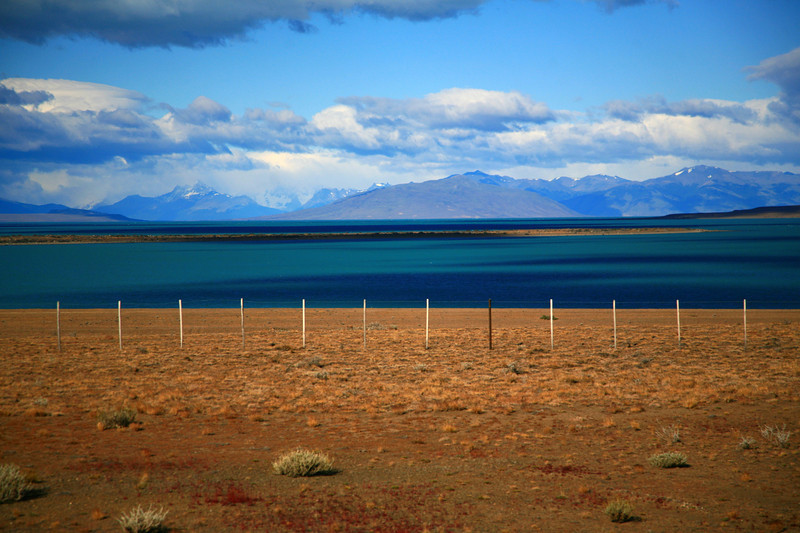 Along Route 40, near El Calafate, Patagonia, Argentina.