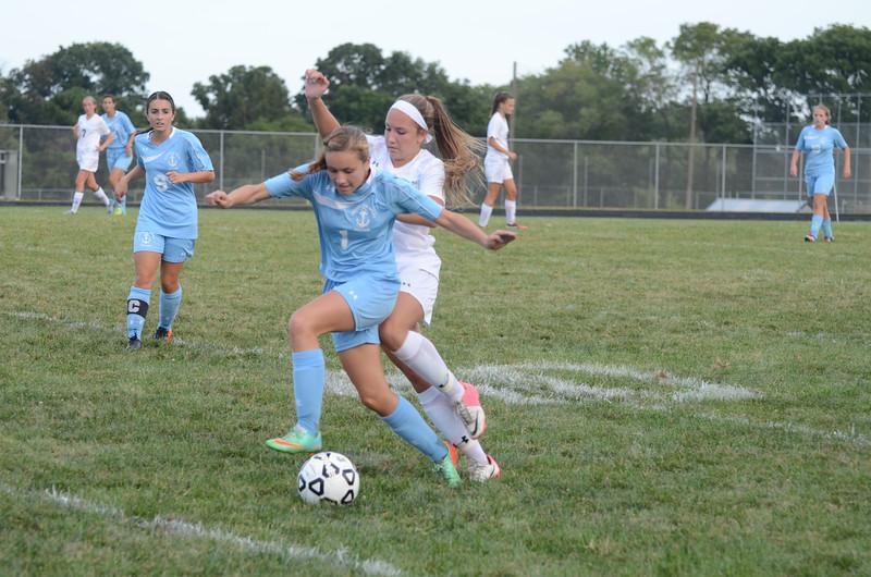Varsity Girls Soccer Sept 15 vs Mount de Sales