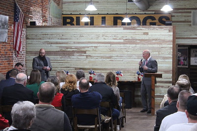 Howe Chamber hosts Grayson County Commissioner Debate, 2/13/2020