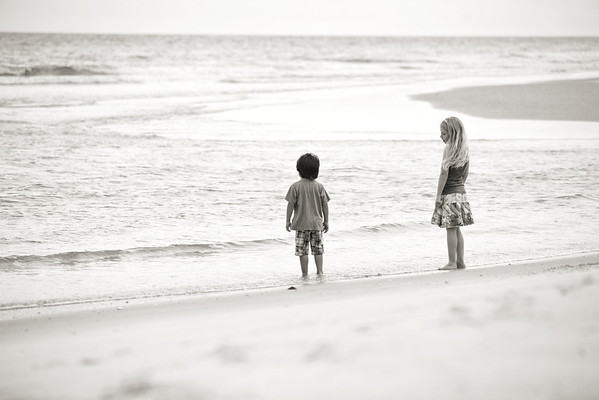 Holland-Deel Family Beach Photo Session