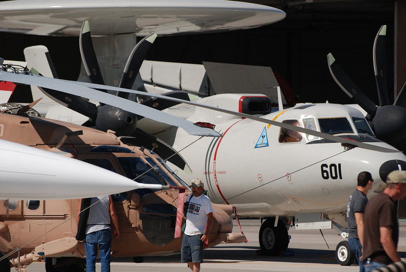 Airshow clutter