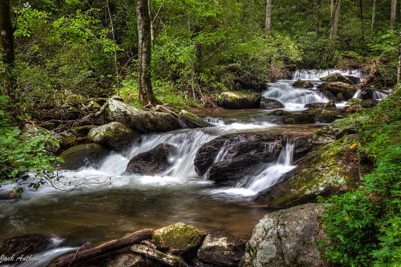 Smith Creek at Anna Ruby Falls