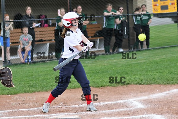 SLC JV SOFTBALL WIN - SAMON RIVER 5/10/2018