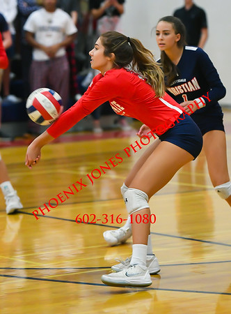 10-21-19 - Scottsdale Christian Academy v Notre Dame Prep - Girls Volleyball