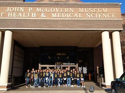 2019 HOSA trip to Health Museum