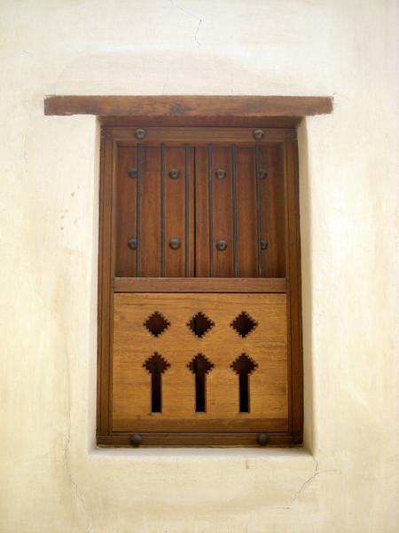 window at Nizwa Fort