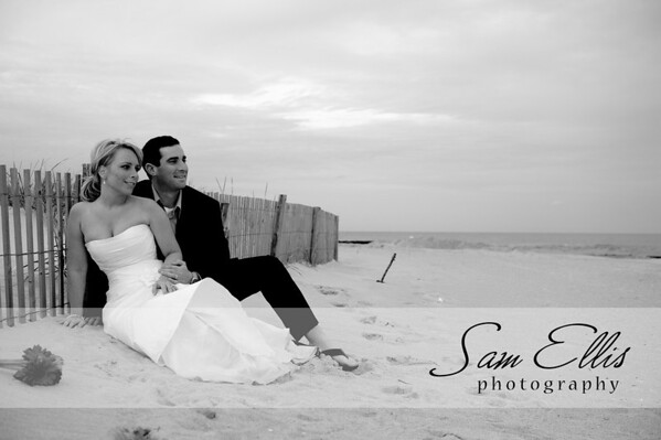 Jennifer and Greg post-wedding portraits and trash the dress