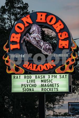 Iron Horse Saloon -Rat Rod Fundraiser 11-23-2018