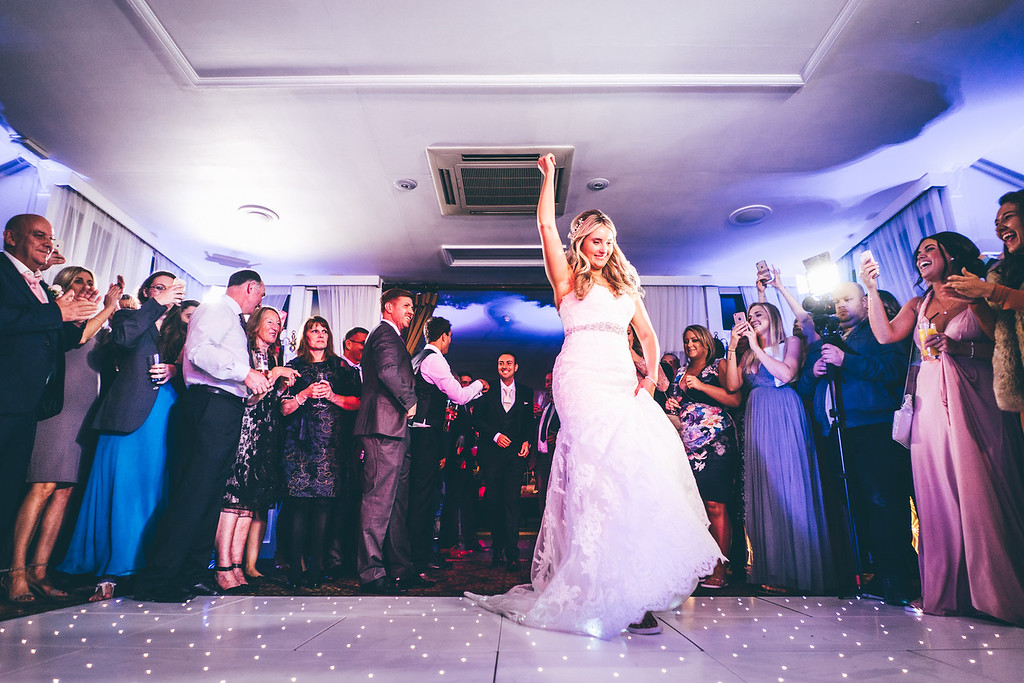 First dance entrance