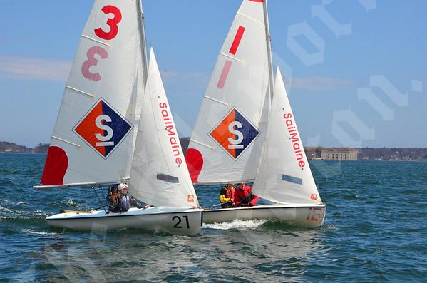 Perfect Score team racing regatta