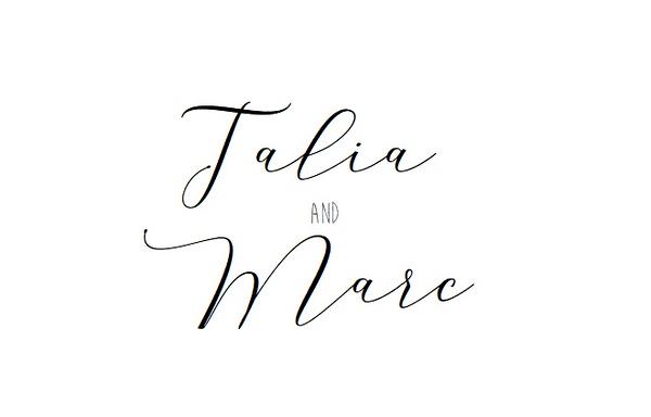 Talia and Marc