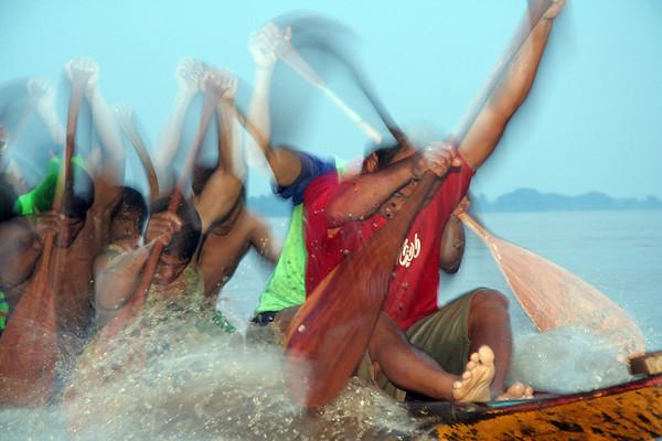 Photo Documentary - Mekong Boat Racing