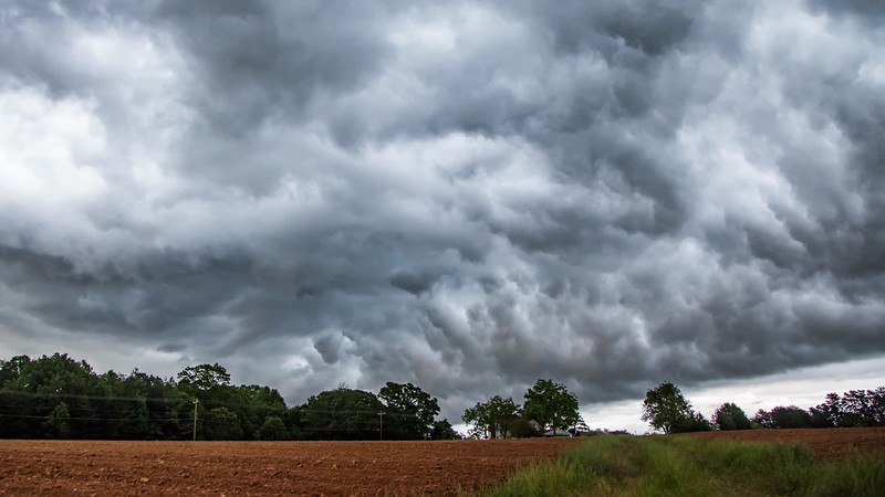 Shelf Cloud Timelapse
