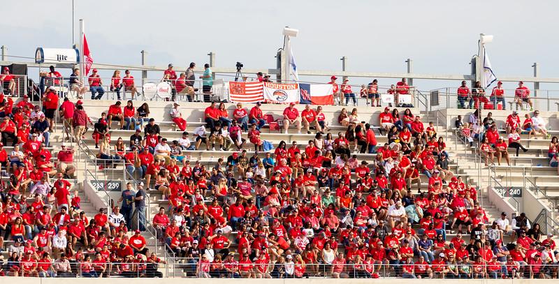 The Mt. Everest seats at TDECU Stadium