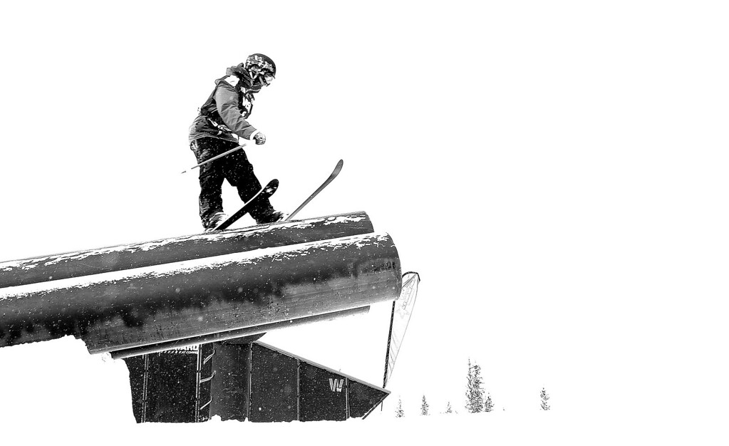 . Alexi Micinski competes during finals for the womens FIS Ski  Slopestyle World Cup at U.S. Snowboarding and Freeskiing Grand Prix on December 21, 2013 in Copper Mountain, Colorado.  (Photo by Mike Ehrmann/Getty Images)