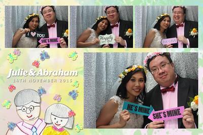 Julie & Abraham's Wedding 14 Nov 2015
