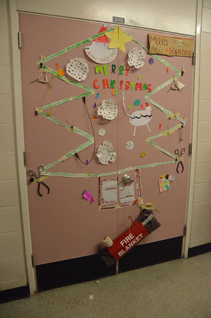 2011 X-Mas Door Decorating