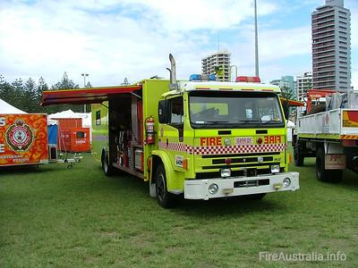 Queensland Fire & Rescue Fleet
