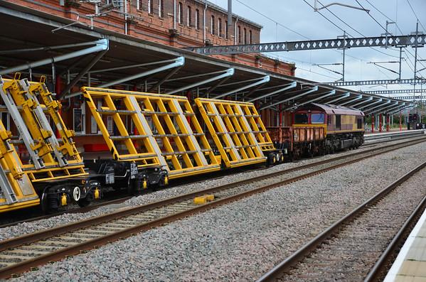 IFA (Uafns) - Bogie Tilting Switch & Crossing Carrier Wagon