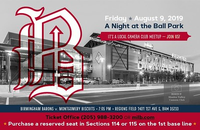 Barons Baseball Meetup 8-9-2019