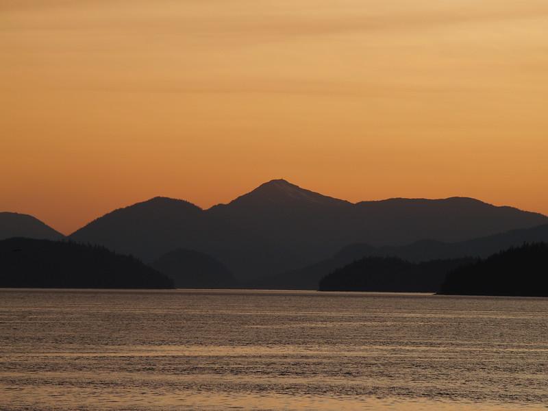 Sunset in Wrangell (2009).