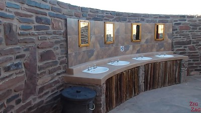 Review Wild Dog Safari 2 week tour Namibia: facilities at camp 1
