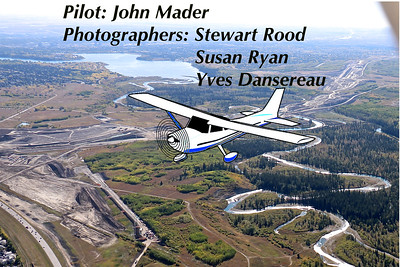 Aerial Photography over the SWCRR and the Weaselhead