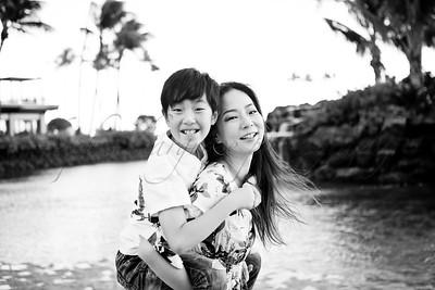 yeji & family