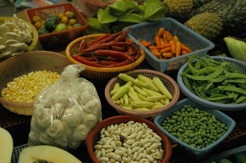 Food Market Goodies - Hanoi, Vietnam