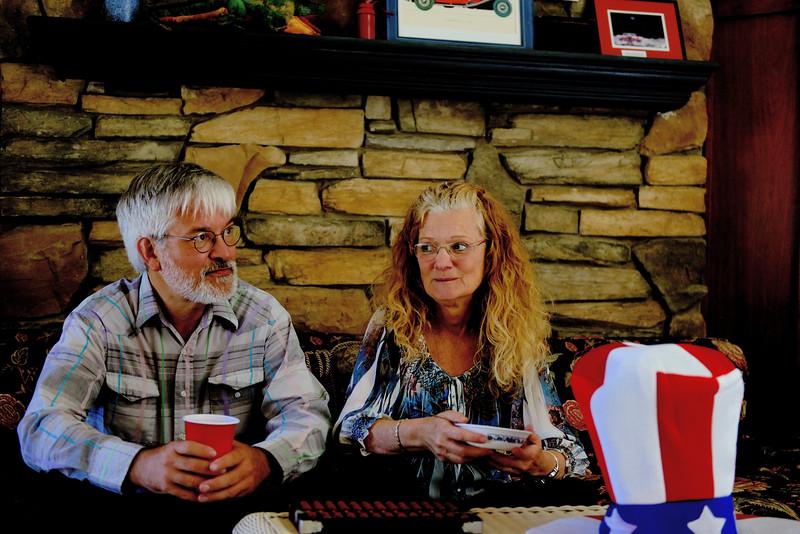 Memorial Day potluck at Sally's 2014