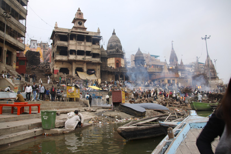 Varanasi funeral ghats