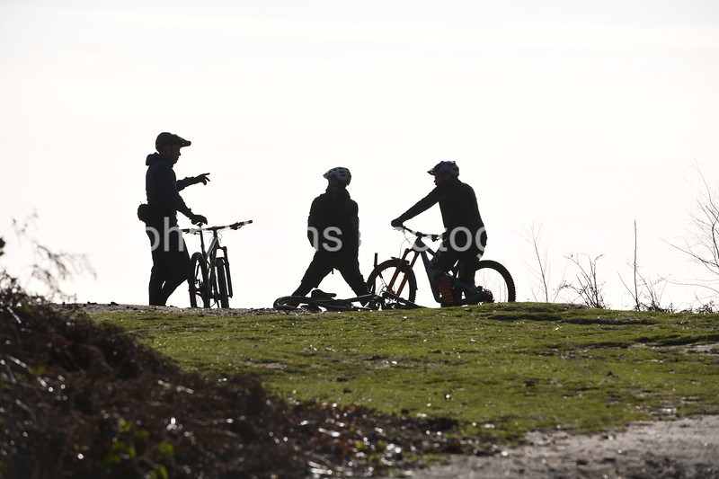 Surrey Hills Mountain Bikers