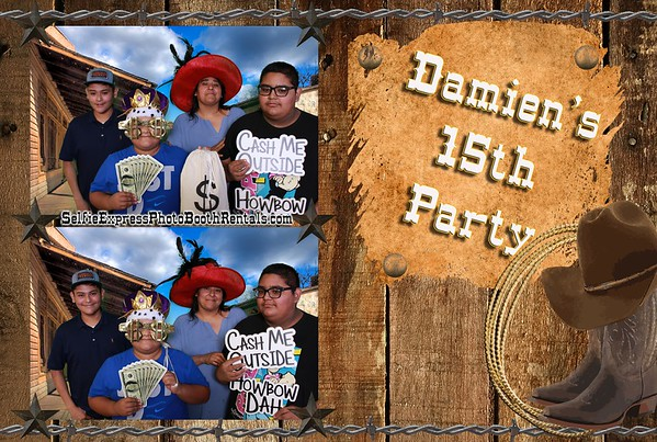 Damien Nieto's 15th Party