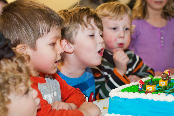 Keaton's 4th Birthday