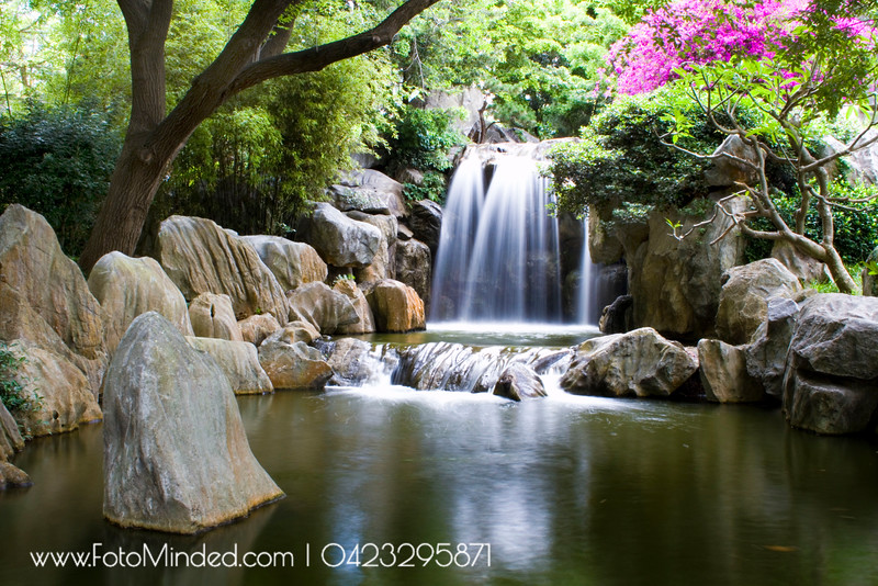 Falls @ Chinese Garden, Sydney, Australia